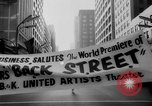 Image of Back Street premier Chicago Illinois USA, 1961, second 11 stock footage video 65675069251