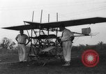 Image of foot propelled plane Baltimore Maryland USA, 1936, second 1 stock footage video 65675069255