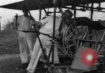 Image of foot propelled plane Baltimore Maryland USA, 1936, second 4 stock footage video 65675069255