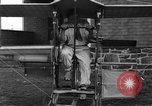 Image of foot propelled plane Baltimore Maryland USA, 1936, second 7 stock footage video 65675069255