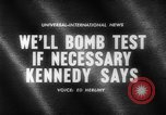 Image of John F Kennedy United States USA, 1961, second 4 stock footage video 65675069256