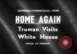 Image of Harry S Truman Washington DC USA, 1961, second 2 stock footage video 65675069257