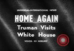 Image of Harry S Truman Washington DC USA, 1961, second 5 stock footage video 65675069257