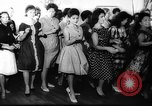 Image of Dance called The Twist Europe, 1961, second 10 stock footage video 65675069258