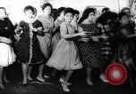 Image of Dance called The Twist Europe, 1961, second 11 stock footage video 65675069258