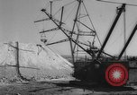 Image of earth moving shovel Russia, 1961, second 4 stock footage video 65675069263