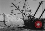 Image of earth moving shovel Russia, 1961, second 5 stock footage video 65675069263