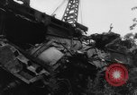 Image of collision of two trains Germany, 1961, second 5 stock footage video 65675069264