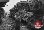 Image of collision of two trains Germany, 1961, second 9 stock footage video 65675069264