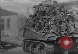 Image of U.S. forces pass through wrecked town near end of World War II Gemunden Germany, 1945, second 8 stock footage video 65675069289