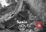 Image of train derailed Catalonia Spain, 1949, second 3 stock footage video 65675069311