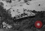 Image of train derailed Catalonia Spain, 1949, second 9 stock footage video 65675069311