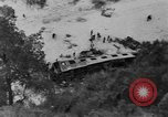 Image of train derailed Catalonia Spain, 1949, second 10 stock footage video 65675069311