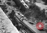 Image of train derailed Catalonia Spain, 1949, second 11 stock footage video 65675069311