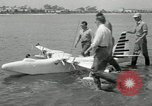 Image of seaplane test San Diego California USA, 1949, second 8 stock footage video 65675069314