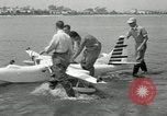 Image of seaplane test San Diego California USA, 1949, second 9 stock footage video 65675069314