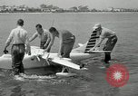 Image of seaplane test San Diego California USA, 1949, second 10 stock footage video 65675069314