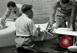 Image of seaplane test San Diego California USA, 1949, second 12 stock footage video 65675069314