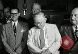 Image of Harry S Truman signs Housing Act Washington DC USA, 1949, second 10 stock footage video 65675069315