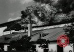 Image of fire at film studio Germany, 1949, second 8 stock footage video 65675069316