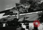 Image of fire at film studio Germany, 1949, second 9 stock footage video 65675069316