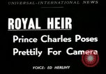 Image of Prince Charles United Kingdom, 1949, second 1 stock footage video 65675069317