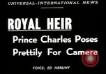 Image of Prince Charles United Kingdom, 1949, second 3 stock footage video 65675069317