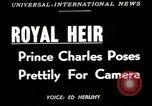 Image of Prince Charles United Kingdom, 1949, second 5 stock footage video 65675069317