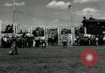 Image of Horse Rodeo Calgary Canada, 1949, second 5 stock footage video 65675069319