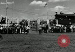 Image of Horse Rodeo Calgary Canada, 1949, second 6 stock footage video 65675069319