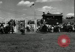 Image of Horse Rodeo Calgary Canada, 1949, second 7 stock footage video 65675069319