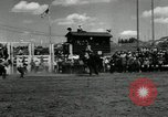 Image of Horse Rodeo Calgary Canada, 1949, second 8 stock footage video 65675069319