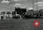 Image of Horse Rodeo Calgary Canada, 1949, second 9 stock footage video 65675069319