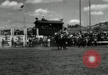 Image of Horse Rodeo Calgary Canada, 1949, second 10 stock footage video 65675069319
