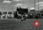 Image of Horse Rodeo Calgary Canada, 1949, second 12 stock footage video 65675069319
