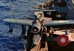 Image of OS2U Kingfisher Pacific Ocean, 1945, second 5 stock footage video 65675069340