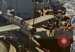 Image of OS2U Kingfisher catapulted Pacific Ocean, 1945, second 7 stock footage video 65675069342