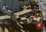 Image of OS2U Kingfisher catapulted Pacific Ocean, 1945, second 9 stock footage video 65675069342