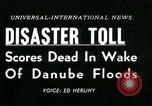 Image of Danube floods Europe, 1954, second 6 stock footage video 65675069354