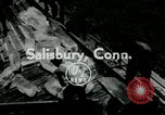 Image of summer ski meet Salisbury Connecticut USA, 1954, second 1 stock footage video 65675069357