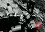 Image of summer ski meet Salisbury Connecticut USA, 1954, second 3 stock footage video 65675069357