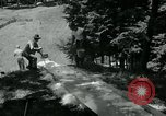Image of summer ski meet Salisbury Connecticut USA, 1954, second 10 stock footage video 65675069357