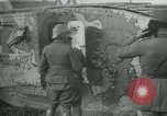 Image of Crew enters British Mark I tank France, 1916, second 10 stock footage video 65675069363