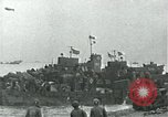 Image of Omaha Beach D-Day landing crafts Normandy France, 1944, second 12 stock footage video 65675069373