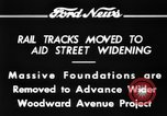 Image of rail tracks moves United States USA, 1934, second 6 stock footage video 65675069406