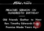 Image of Reverend Timothy Edwards Washington DC USA, 1934, second 1 stock footage video 65675069407