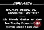 Image of Reverend Timothy Edwards Washington DC USA, 1934, second 3 stock footage video 65675069407