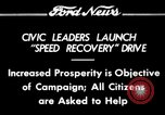 Image of Speed Recovery Campaign United States USA, 1934, second 1 stock footage video 65675069409
