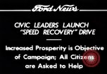 Image of Speed Recovery Campaign United States USA, 1934, second 9 stock footage video 65675069409