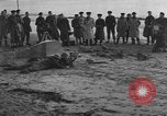 Image of beach obstacles United Kingdom, 1942, second 8 stock footage video 65675069427
